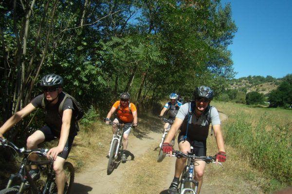 Mountain biking in Ardèche