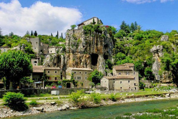 Balazuc - typischen Orte des Ardèche