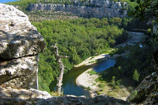 Die Gorges der Ardèche