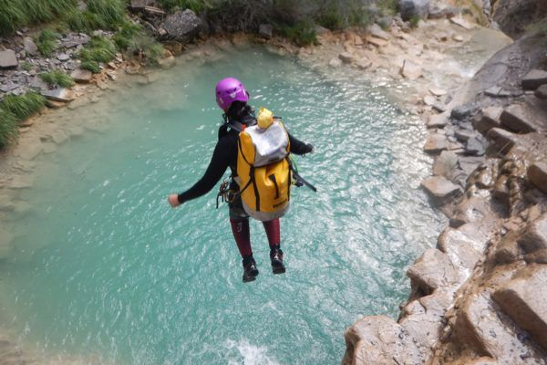Canyoning in der Ardèche