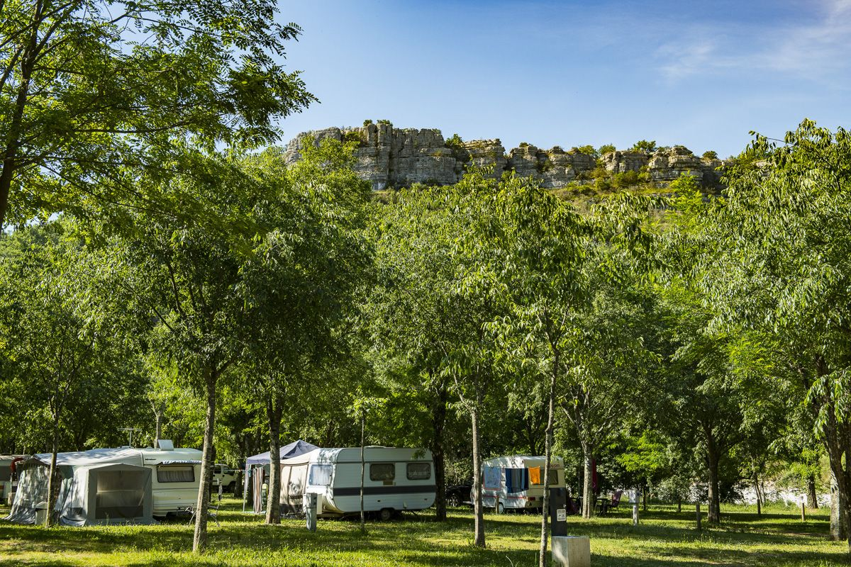 Campsite pitches